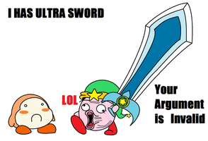 Kirby - Argument is Invalid by KingKirbyThe3rd