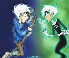 Danny and Jack by HezuNeutral