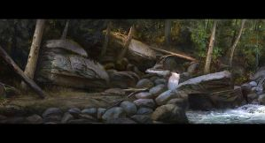 SmudgePainting-Forest_scene by MaxAntonov