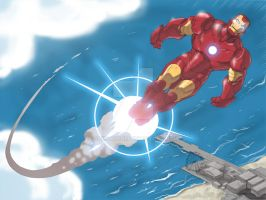 Iron Man children's book 3 by GuidoGuidi