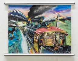 Alaska Railroad Head-on. by RPM1000
