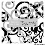 Swirl Brush Set 01 by wickedjess