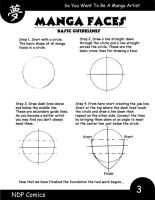 How to draw manga faces page 1 by NDPcomics