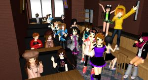 [MMD] My precious People in MMD... by LoverCathy