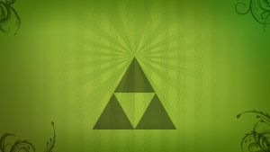 Zelda Triforce wallpaper - minimalistic by H-Thomson