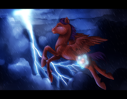 Scootaloo - Earning Her Wings by Stalcry