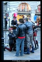PUNKS IN LONDON by darkmercy