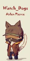 Watchdogs  AidenPierce by LKiKAi