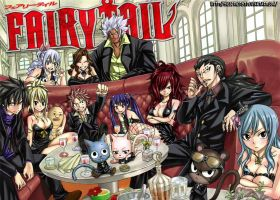 Fairy Tail Elegant Party Wallpaper edit by Me by Siegfried87
