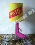 Sex Pistols Table Lamp by MartsKustomArt