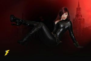 Pin-up Black Widow by Alexia-Jean-Grey