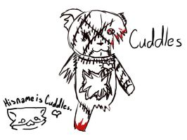 His name is Cuddles. C: by otsukimirecital