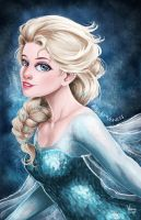 Frozen: Elsa by Vinnie14