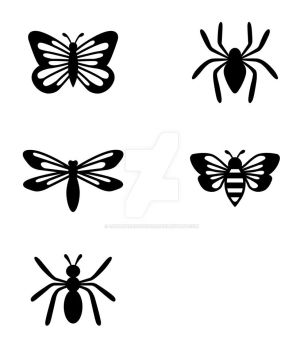 Bug Icons by LunarHorseDemon