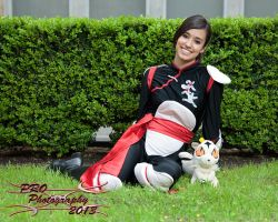 Mizuumicon-2013 Sango and Kirara cosplay by inustwin6789