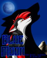 Blue Moon Cover Page by anelalani