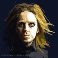Speedpainting Tim Minchin by Anthea-Papillon