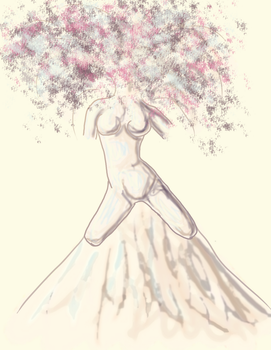 Tree of woman by aure1989