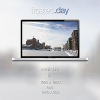 Frosted.Day Wallpaper by Scheffels