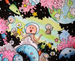 Planet Octopus. by M-tine