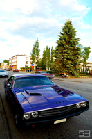 Purple '71 Challenger by Styrox-Art
