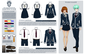 Arcanum Universum Uniform Guide by AU-Headmaster