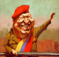 Hugo Chavez by gabrio76