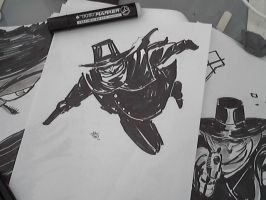 Some sketches of The Shadow by FrancescoIaquinta