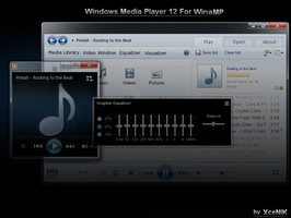 Windows Media Player 12 by XceNiK