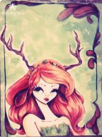 dera the deer by little-lilly-beast