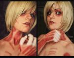 The female titan - Shingeki No Kyojin anime by YuukiCosplayer