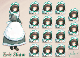 Eris Shaw - Character Reference by Metalraptor