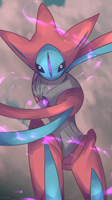 Day 467 - Deoxys (Attack) by AutobotTesla