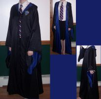 Ravenclaw Robes by LLBeanie