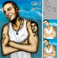 Rene Perez - Calle 13 by ipawluk