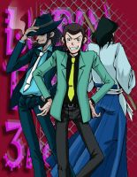 Lupin the 3rd by sandersonia