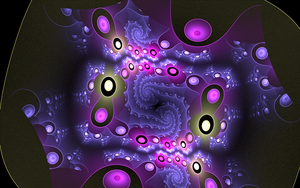 violet circles by Andrea1981G