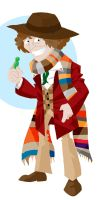 The Fourth Doctor by memorypalace