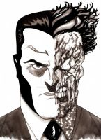 Two-Face by nathanobrien
