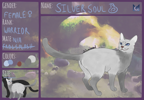 Silversoul of Moonclan by TheOwlArtist