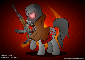Conscript Pony by jcosneverexisted