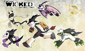 Digimon re:CON: Something Wicked by glitchgoat