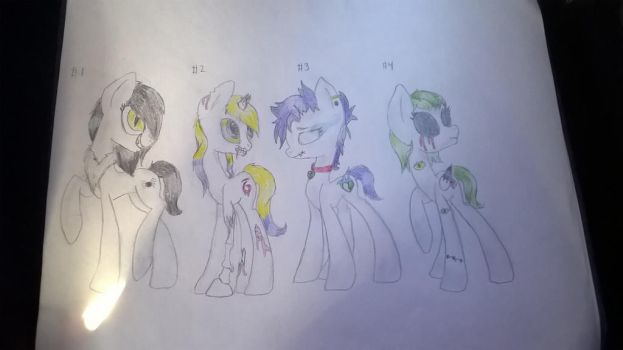 scary mlp adopts by goldenorb92