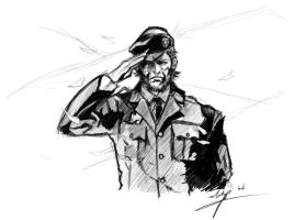 big boss sketch by maifaun
