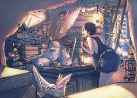The library by dackQ
