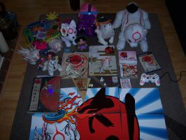 Okami Merchandise Update 3 by Skunk-Mantra