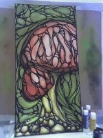 Mind Enhancing Stained Glass by Jewlishish