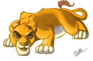Simba by TehChan