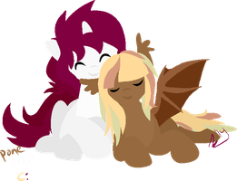 Pony otp c: by demonreapergirl