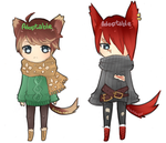Adoptables: batch 2 [CLOSED] by MidnightAdoptss